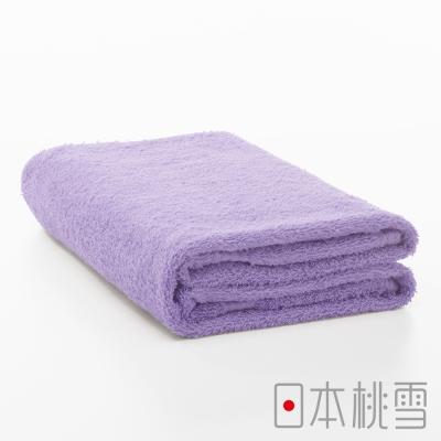 日本桃雪居家浴巾(紫色)