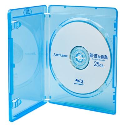 DigiStone 藍光DVD Logo燙銀單片精裝軟盒(100片)