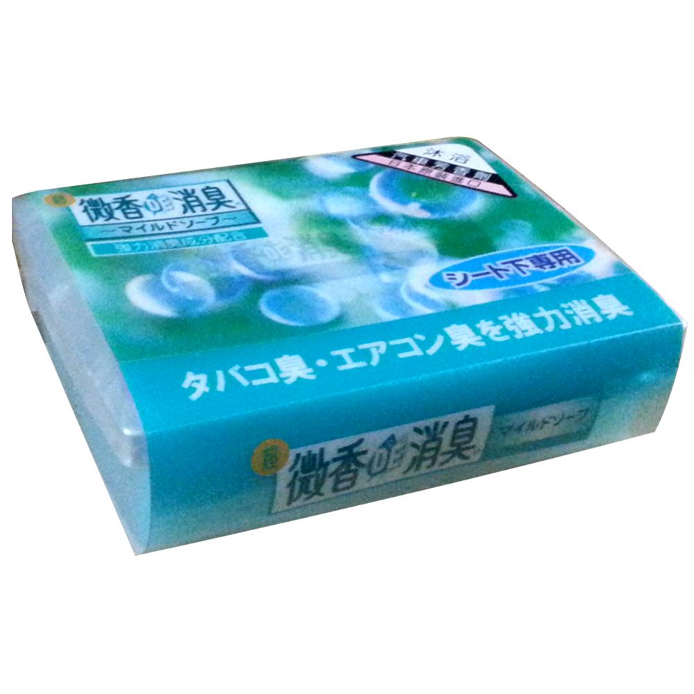[快]日本雞仔牌-DE長型座椅下沐浴消臭盒F-42
