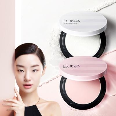 韓國LUNA HD柔焦高光感蜜粉餅(白)-7g (粉盒X1+粉蕊12.5gX1+粉撲X2)
