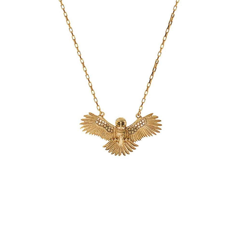 【Wildfox Couture】金色魔法時尚貓頭鷹項鍊
