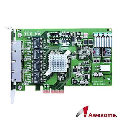 Awesome 伺服器級四埠GigaLAN網路卡-AWD-PXE350Q