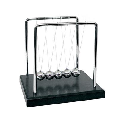 【賽先生科學】牛頓球 / 慣性原理擺動球(冷酷黑)大尺寸
