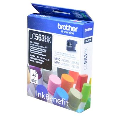 Brother LC563BK  黑色複合機墨水匣