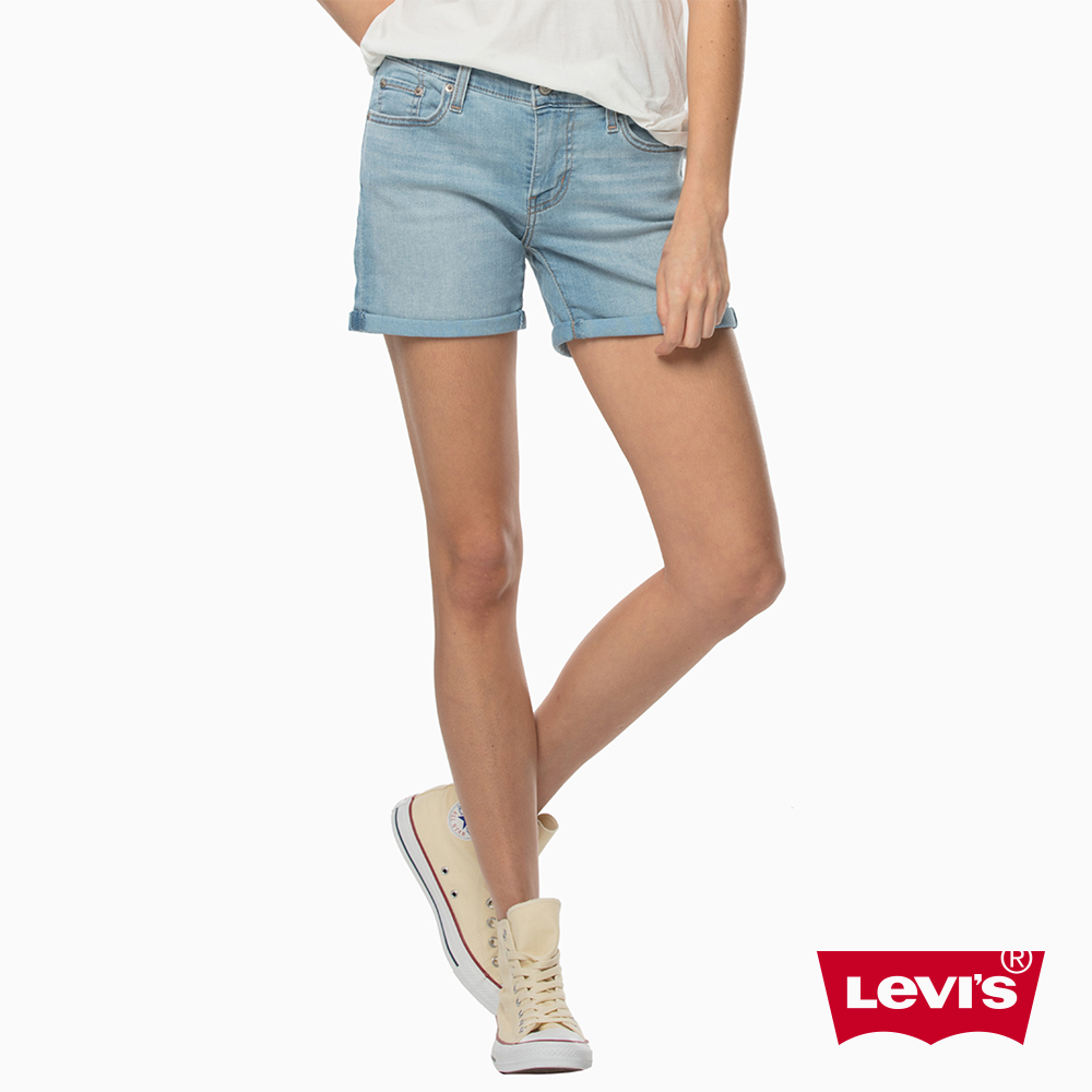 Levis 女款 短褲 牛仔短褲