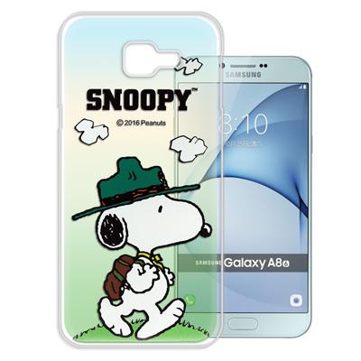 史努比/SNOOPY Samsung Galaxy A8 (2016) 漸層手機...