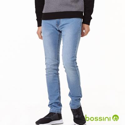bossini男裝-修身牛仔褲02靛藍