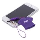 Yahoo!-紫色Logo短T螢幕擦吊飾