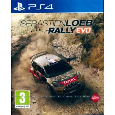 塞巴斯蒂安拉力賽車 Sebastien Loeb Rally Evo-PS4英文版