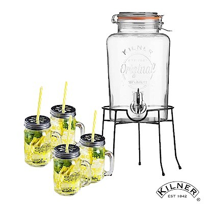 KILNER 派對野餐飲料桶歡樂組