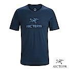 Arcteryx 24系列 男 有機棉 ARC'WORD 短袖T恤 夜景藍