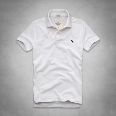 AF a&f Abercrombie & Fitch 短袖 POLO 白色 173