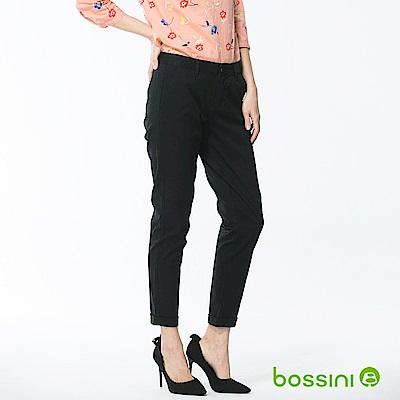 bossini女裝-彈力修身褲02黑
