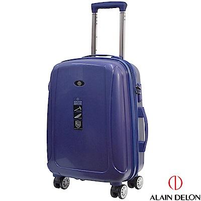 ALAIN DELON 亞蘭德倫 20吋旅者風情系列旅行箱(藍)