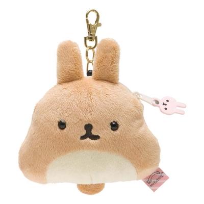 麻糬兔兔子朋友系列毛絨票夾零錢包。薯片