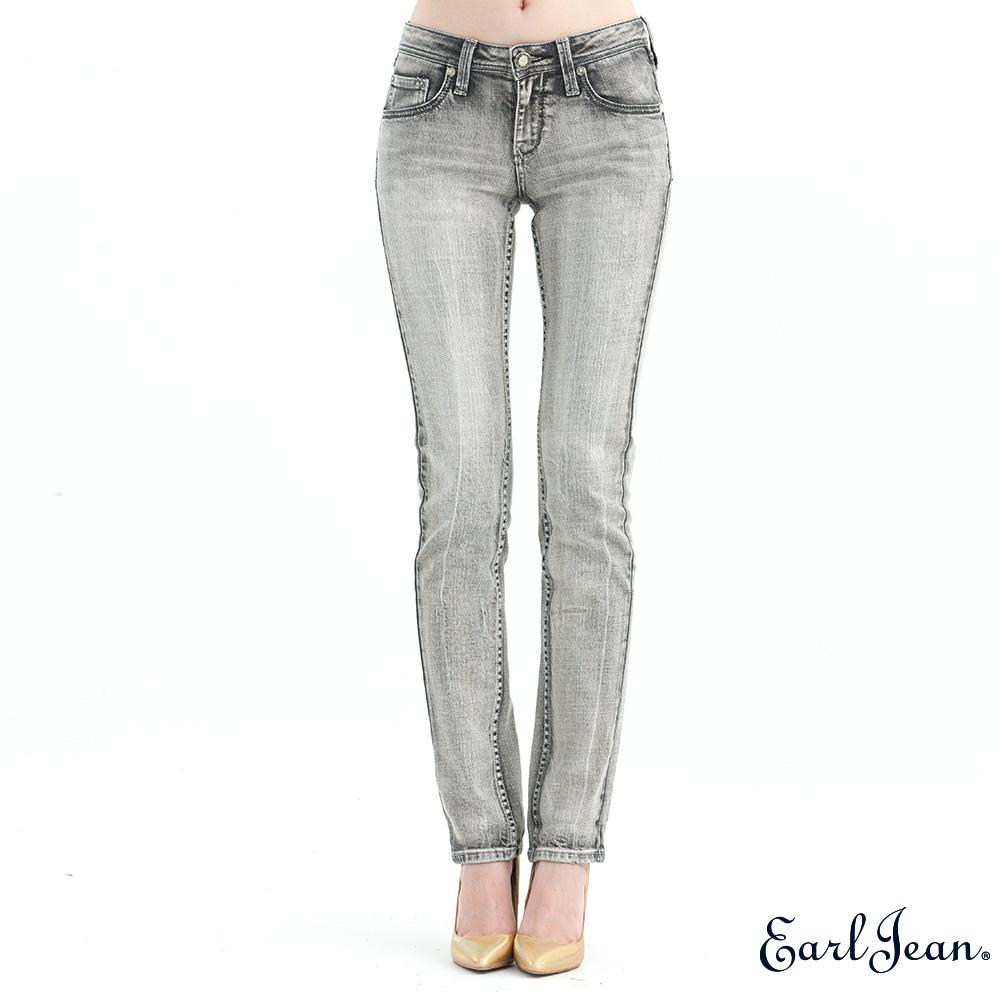 Earl Jean高腰合身窄管褲