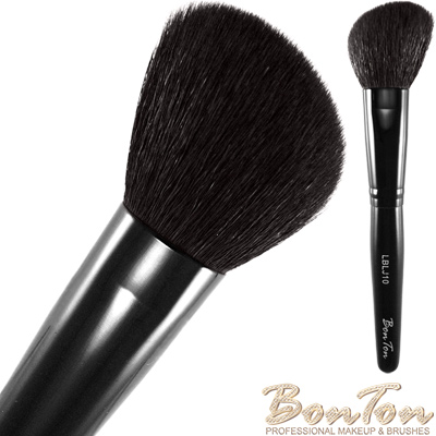 BonTon 墨黑系列 斜修容/腮紅刷(大) LBLJ10 特級尖鋒羊毛