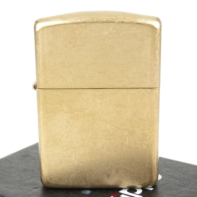 【ZIPPO】美系~Armor tumbled brass-裝甲厚殼磨砂銅