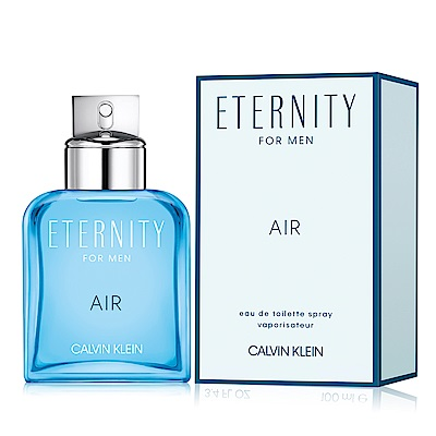 Calvin Klein CK Eternity Air 永恆純淨男性淡香水50ml