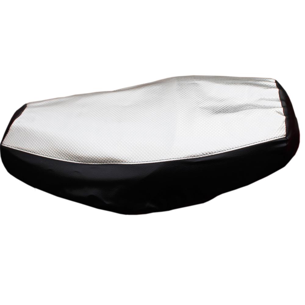 omax新一代防熱水波珠光銀機車坐墊