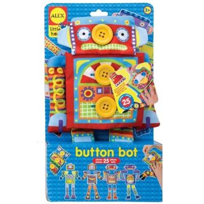 美國ALEX 鈕釦玩偶換裝秀-機器人