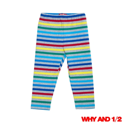 WHY AND 1/2 彩條家居褲 彈性棉質長褲 2Y-4Y