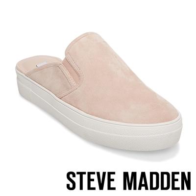 STEVE MADDEN-GLENDA-LIGHT PINK 厚底素面穆勒鞋-粉紅