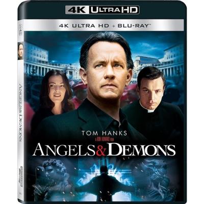 天使與魔鬼 4K UHD+BD 雙碟限定版  藍光 BD