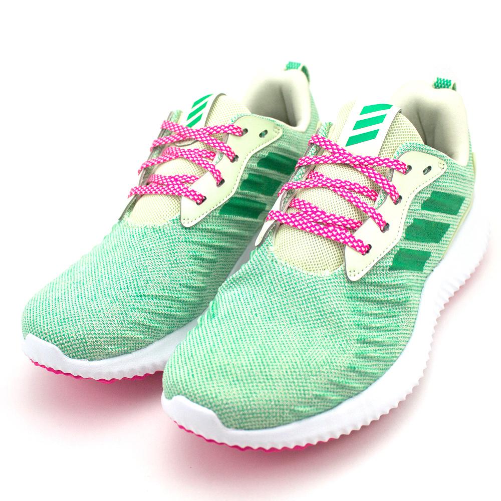 24H-ADIDAS-中大童鞋CQ1192-淺綠