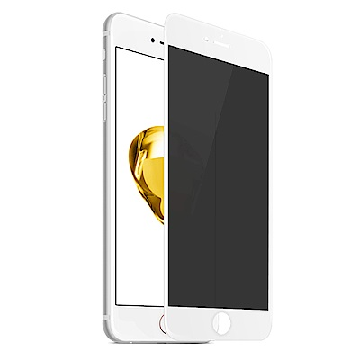 【SHOWHAN】iPhone6 Plus/6s+ 3D全覆蓋防窺軟邊9H鋼化保...