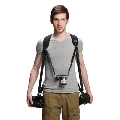 美國FOTOSPEED F8 三機雙肩專業減壓極速背帶