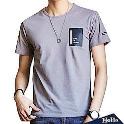 個性潮流短袖T恤 三色-HeHa