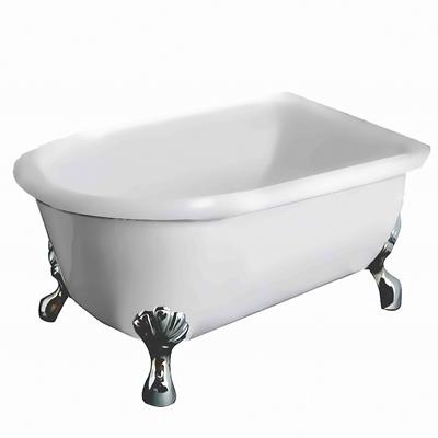 【I-Bath Tub精品浴缸】伊莉莎白-經典銀(140cm)