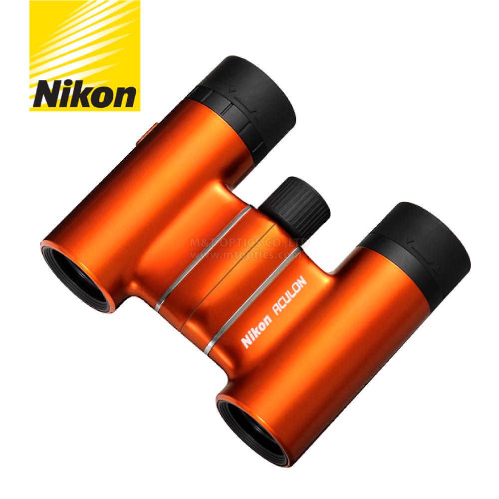 NIKON ACULON T01-8X21雙筒望遠鏡(閃酷橘)