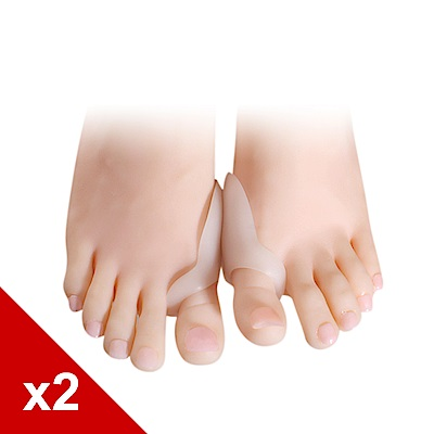 糊塗鞋匠 優質鞋材 J02 超優質軟矽膠 腳拇指保護墊 (2雙/組)