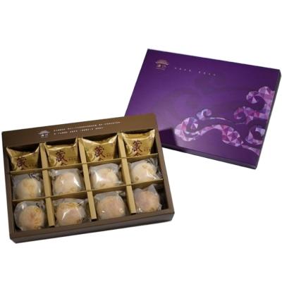 臻饌 綜合12入禮盒/共3盒(鳳梨酥*4+蛋黃酥*4+金沙小月*4)