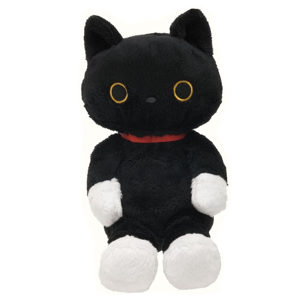 小襪貓白貓鋼琴之戀系列毛絨公仔。小襪貓