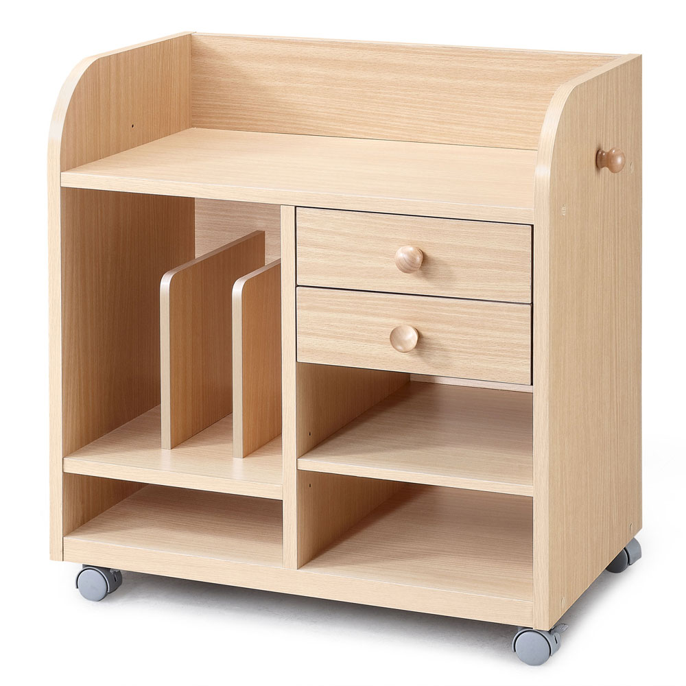 兒童萬用收納書櫃/木製書架/雜誌架/雜誌收納架/展示櫃