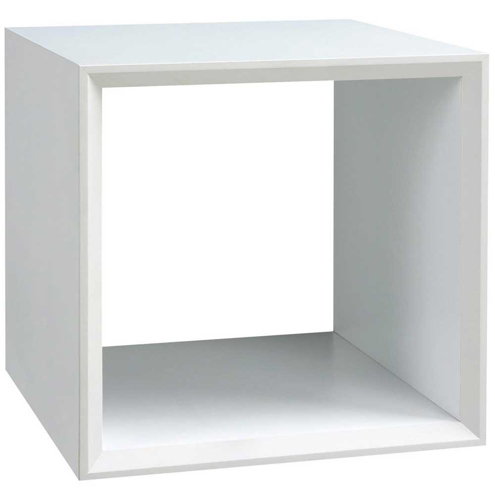 魔術方塊36系統收納櫃/鏤空櫃-白色