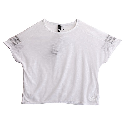 Adidas W ID 3S TEE-短袖上衣-女