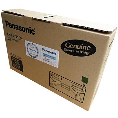 Panasonic國際牌 KX-FAT410H 黑色碳粉匣(碳粉+滾筒)