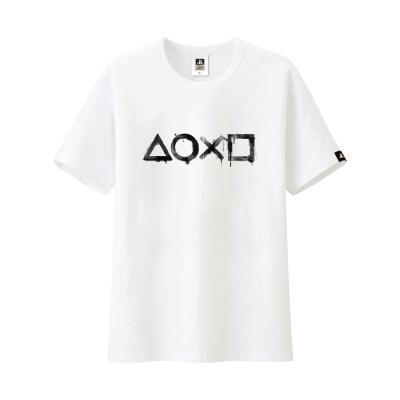 PlayStation 水墨洗染風T恤