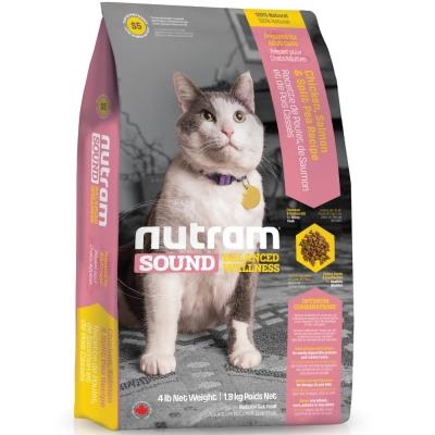 Nutram紐頓 S5成貓/雞肉鮭魚配方 1.8kg【2136】