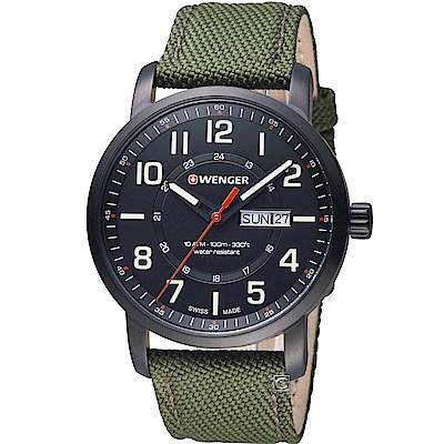 WENGER Attitude系列 野營生活時尚腕錶( 01.1541.104)42mm