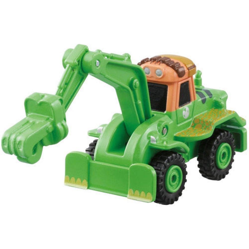 任選CARS TOMICA恐龍當家阿諾挖土機DS84047  多美小汽車