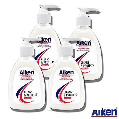 Aiken艾肯 抗菌洗手乳 250ml 4入組