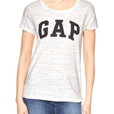 GAP 女生 短袖 T恤 白 0351
