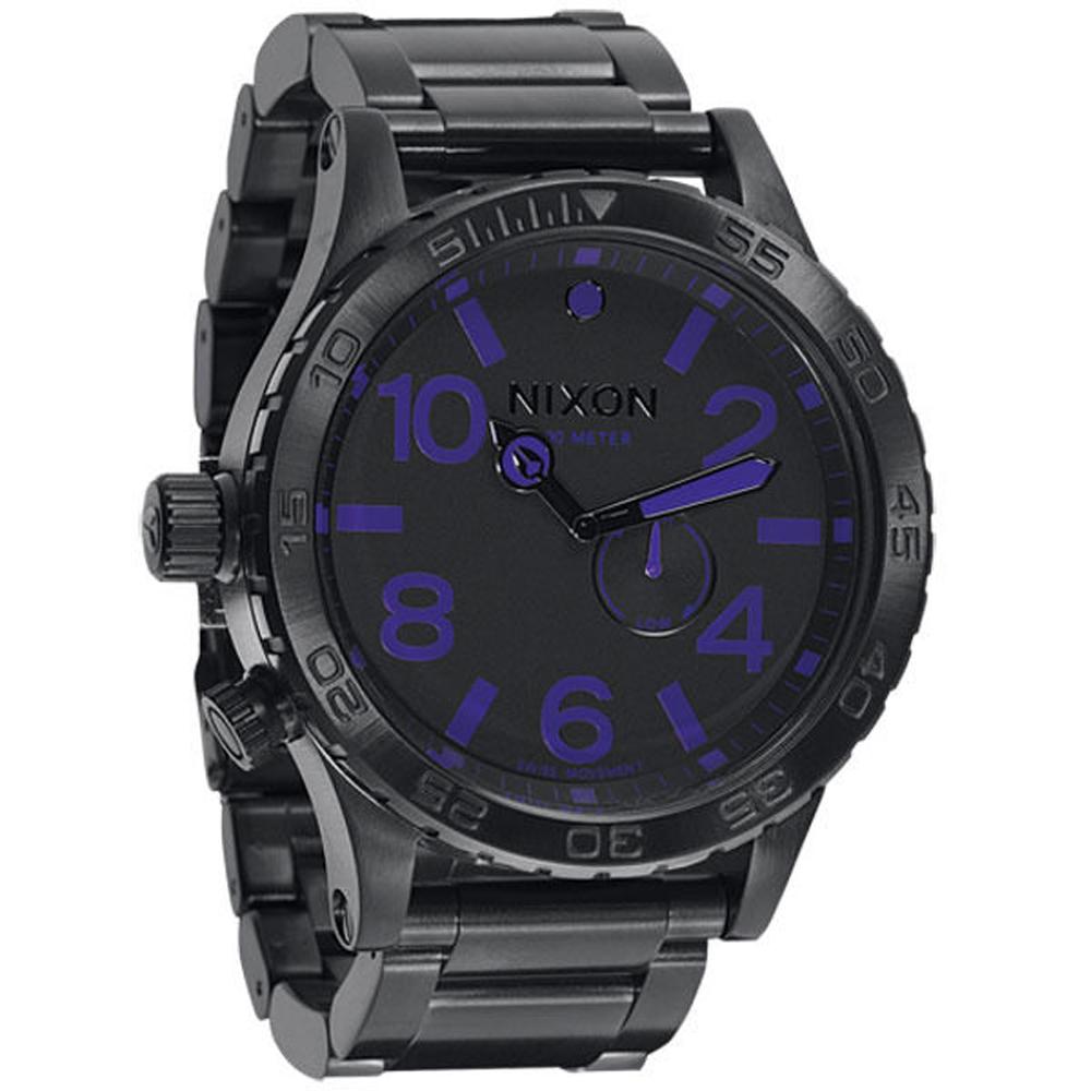 NIXON The 51-30超越潛能運動腕錶-NXA057714/51mm