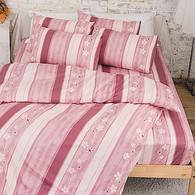 kokomos扣扣馬 鎮瀾宮大甲媽授權精梳棉205織紗新式兩用被雙人床包被套組 和風花繪