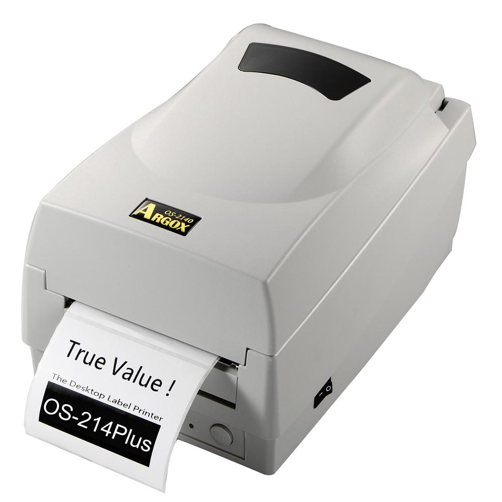 Argox OS-214 Plus 熱感式&熱轉式財產標籤條碼列印機